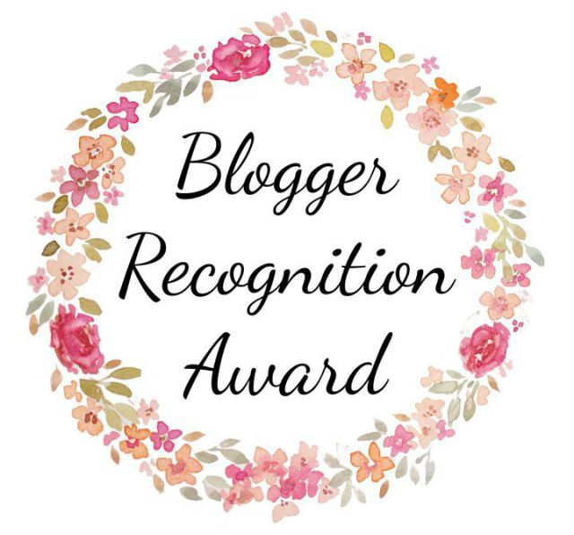 Blogger Recognition Award numbers 2, 3 and 4!