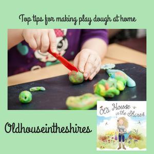 Making Play dough athome.