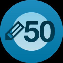 50 blog posts!