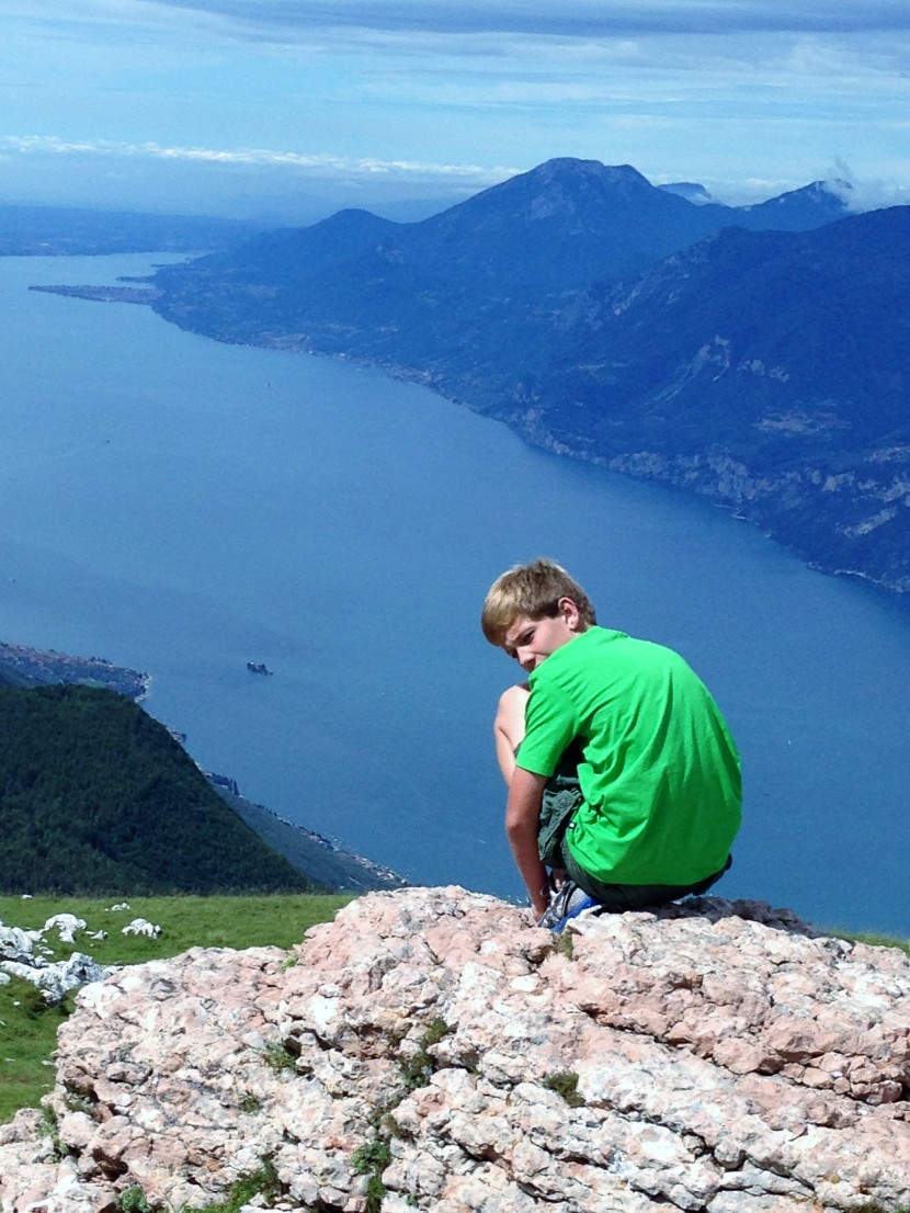 Our Awesome Adventures series: Malcesine and Lake Garda, Italy inJuly.