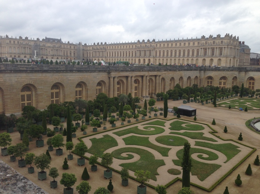 The Palace Gardens of Versailles. #MyGloriousGardens