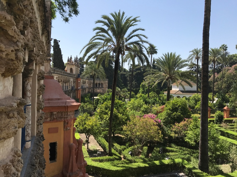 The Gardens of Alcázar of Seville: #MyGloriousGardens.