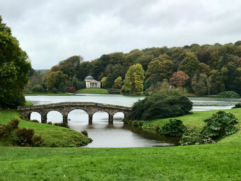 #MyGloriousGardens: Stourhead in Autumn.